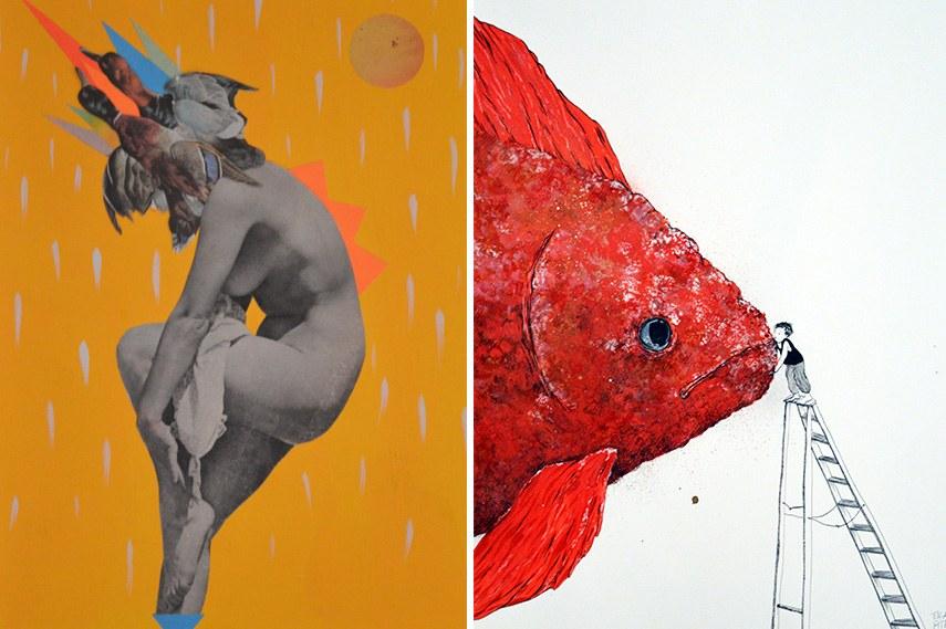 Mist, Ella & PItr, Paper Party 3, Galerie Le Feuvre, Paris