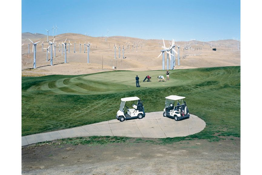 Mitchell Epstein - Altamont Pass Wind Farm, California