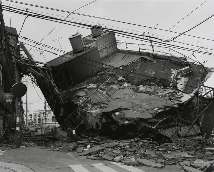 Miyamoto Ryuji - Kobe 1995 After the Earthquake - Nagata-ku, 1995