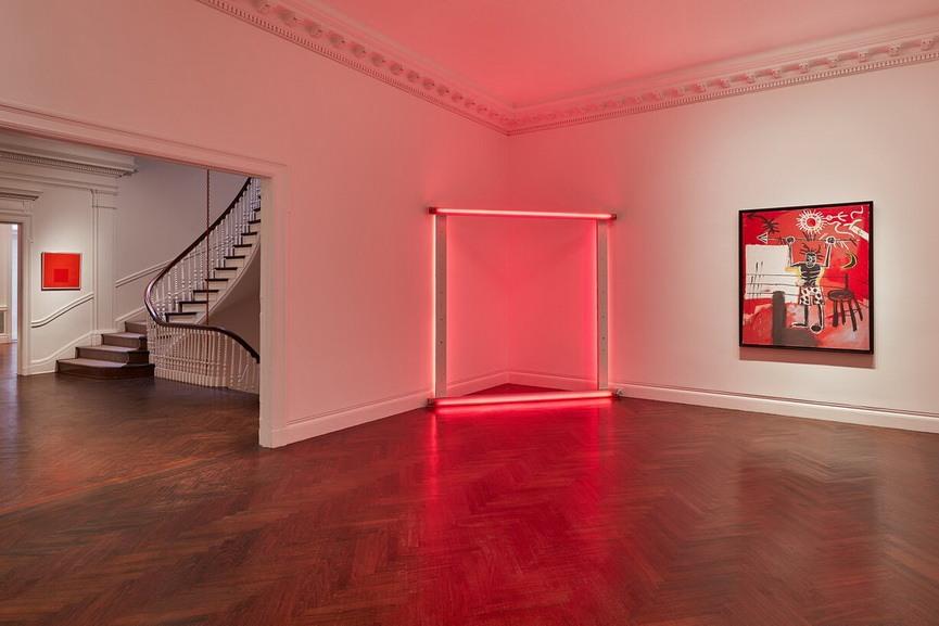 Mnuchin Gallery - Reds, Installation view
