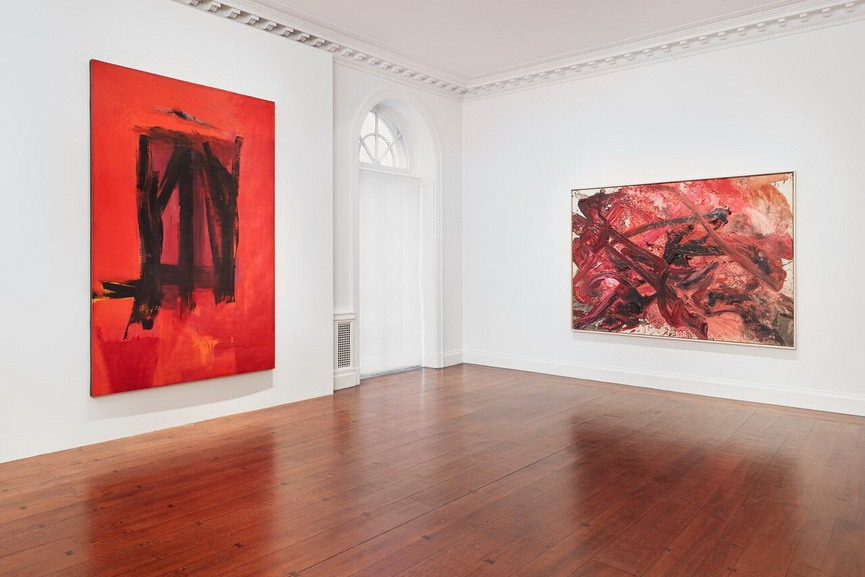 Mnuchin Gallery - Reds, Installation view