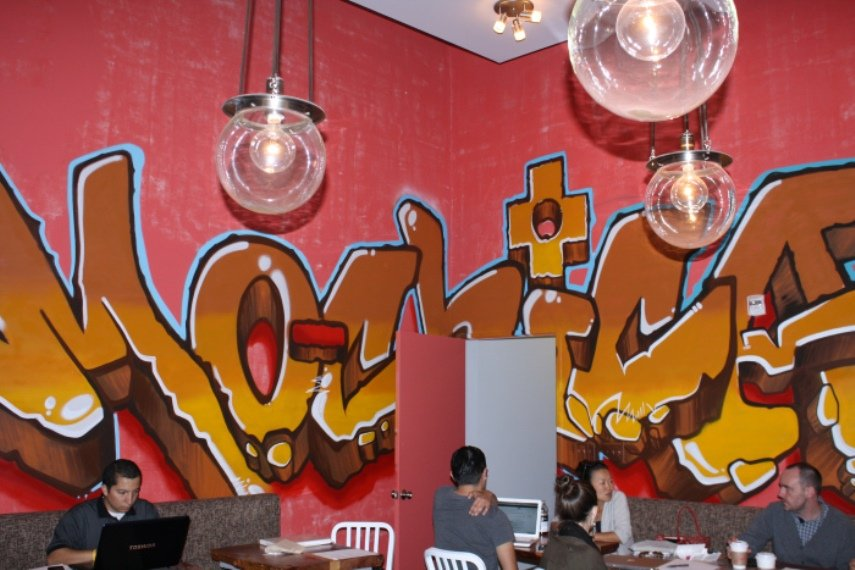 graffiti restaurant