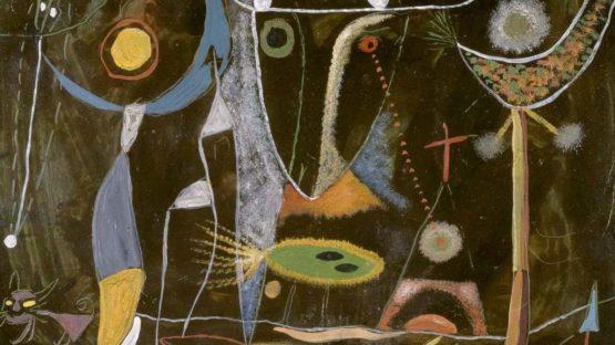 Modest Cuixart - Composició (Composition, Detail), 1948 - Image Copyright Museo Nacional Centro de Arte Reina Sofía