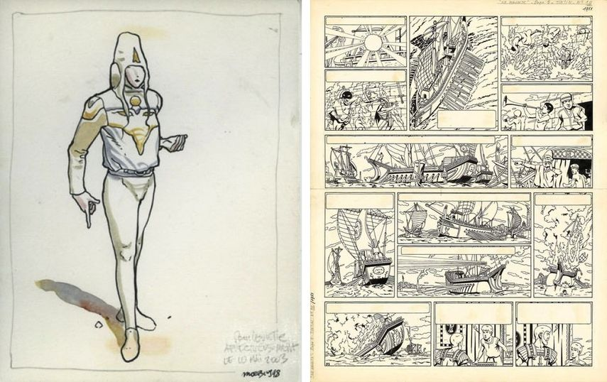 Moebius - Starwatcher, Illustration, 1998,