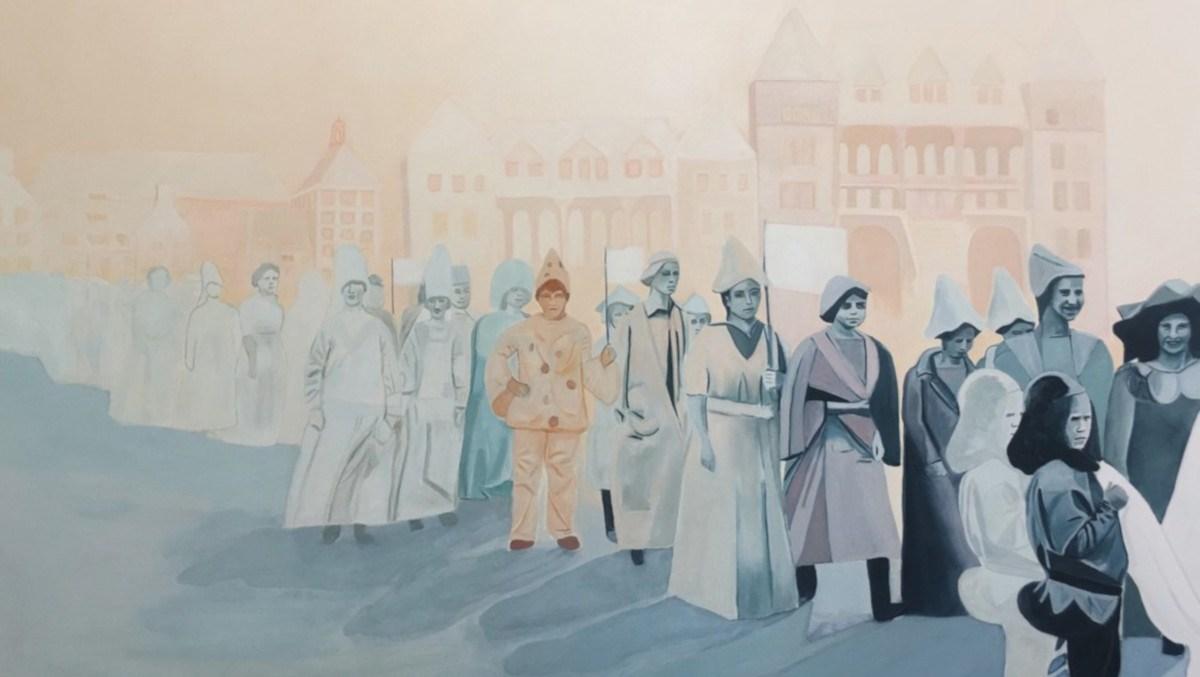 Molly Brocklehurst - Procession, 2019 (detail)