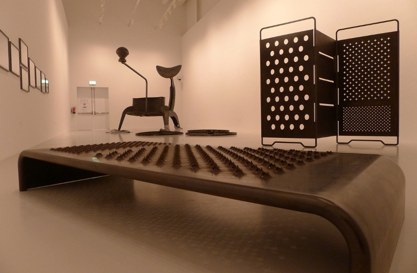 works by british palestinian artist mona hatoum