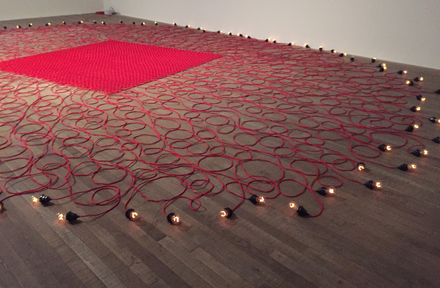 new body of work by british palestinian artist mona hatoum