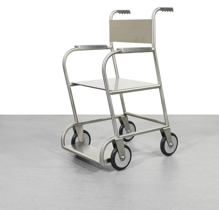 Mona Hatoum-Untitled (Wheelchair Ii)-1999