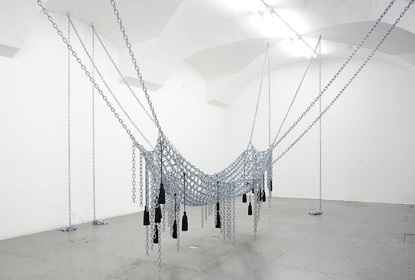 Monica Bonvicini - Chain Leather Swing, 2009 use london use london