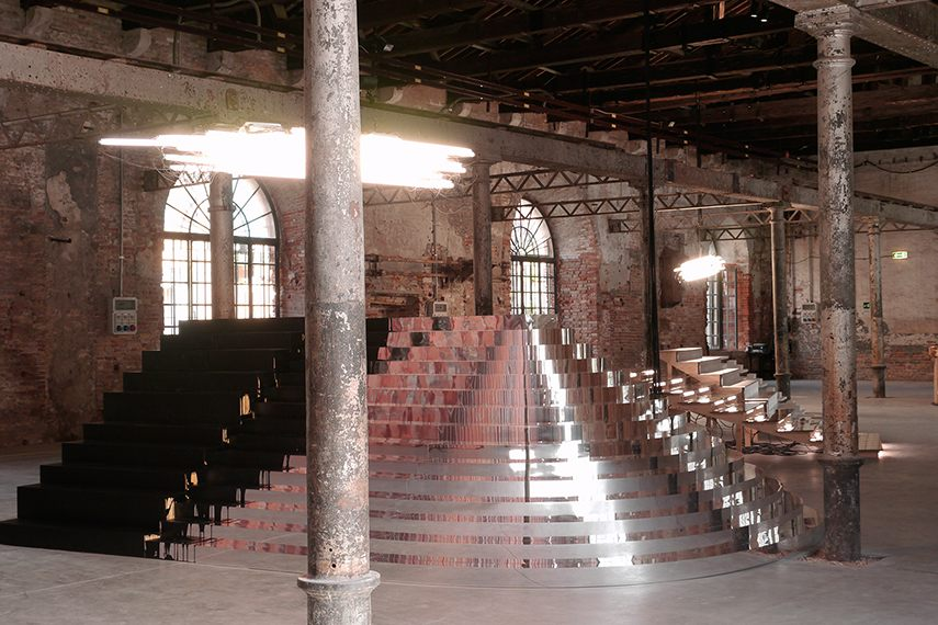 Monica Bonvicini - Fifteen Steps to the Virgin, 2011 2016 venice glass biennale exhibition way 2016 venice glass biennale exhibition way 2016 venice glass biennale exhibition way