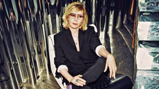 Monica Bonvicini's Portrait - image via vogue.it