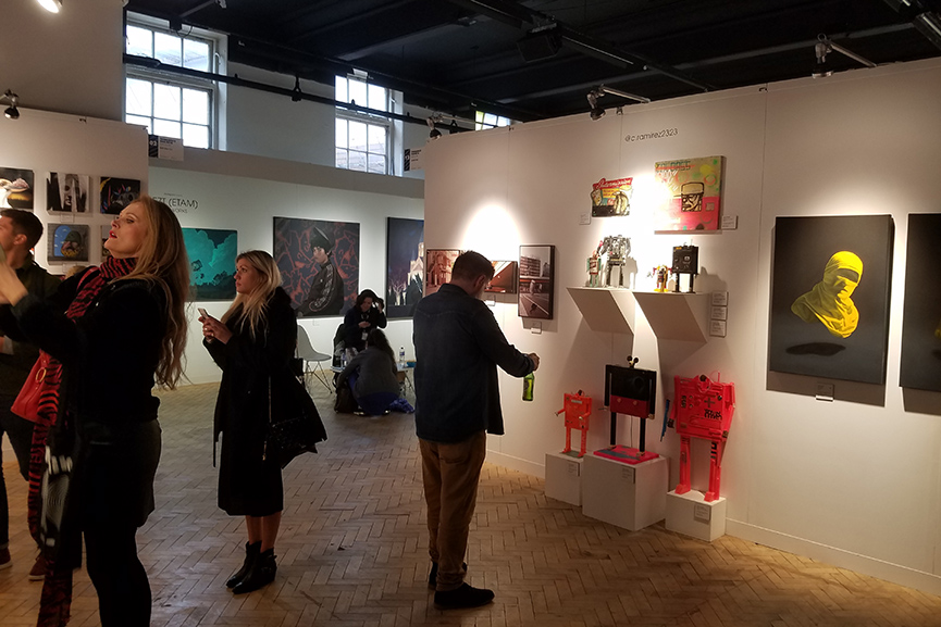 Moniker Art Fair London 2019