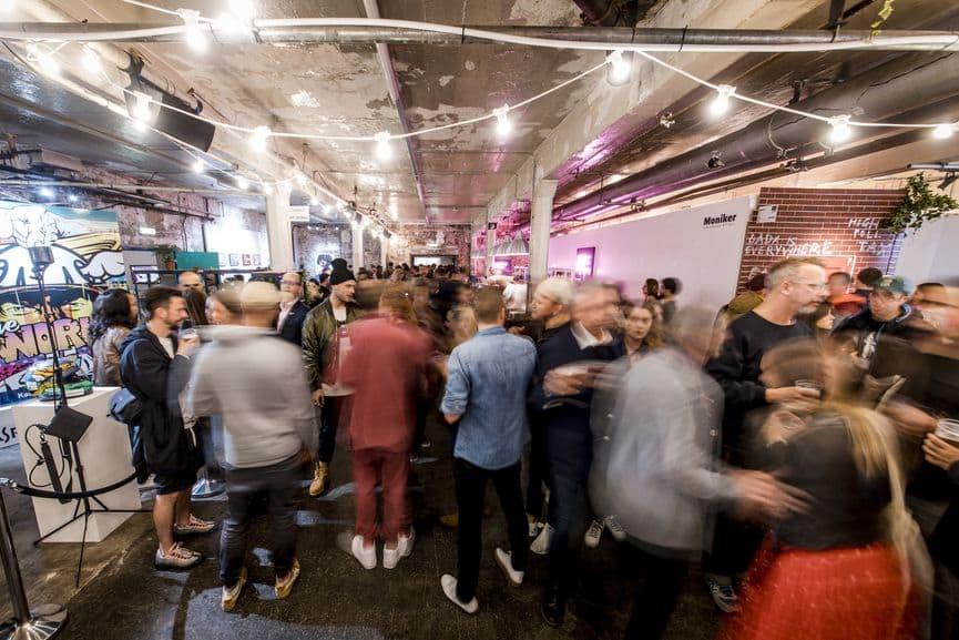 Moniker London events 2018