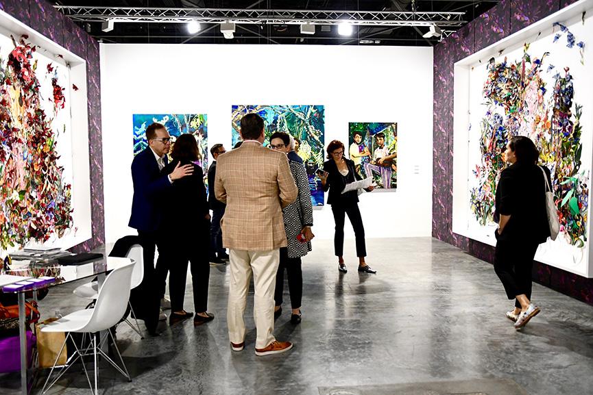 Monique Meloche Gallery Art Basel 2019