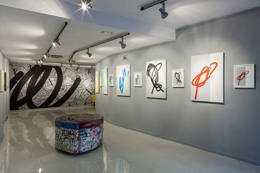 art travel special, barcelona, montana gallery,