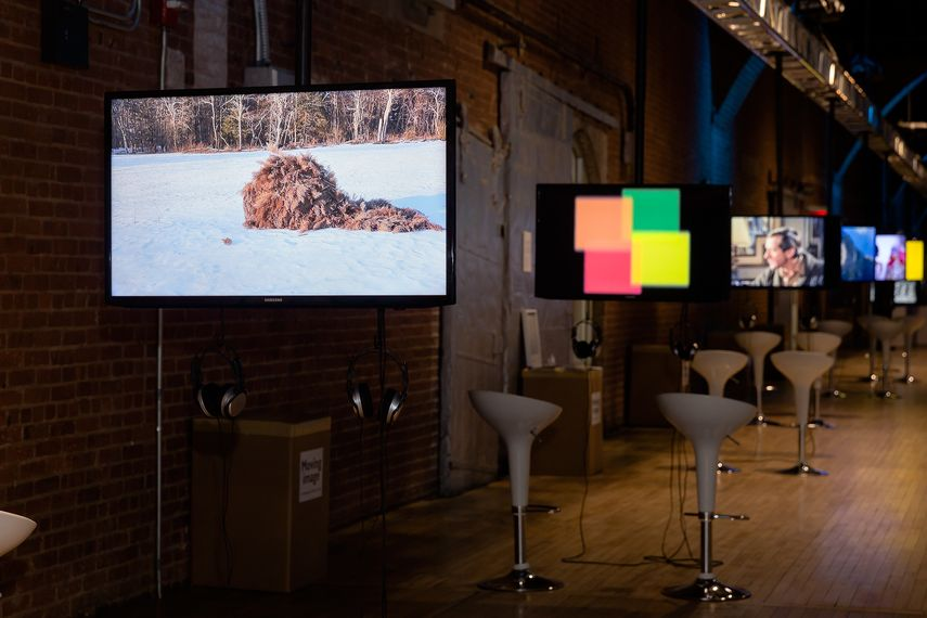 2016 Moving Image NY art fair