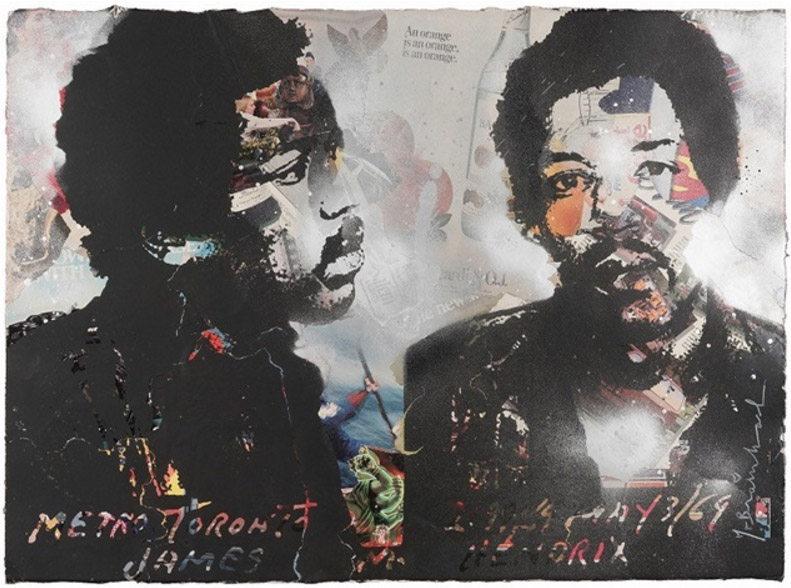 Mr. Brainwash-Jimi Hendrix-2011