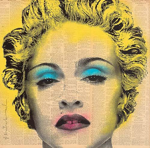 Mr. Brainwash-Madonna-