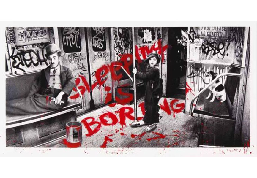 Mr. Brainwash poster