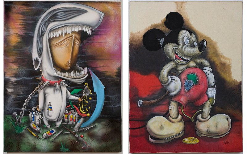 Mr Klevra artworks