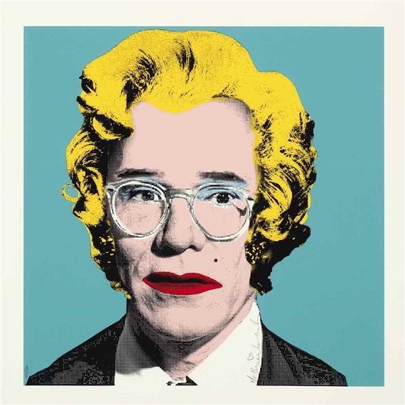 Mr. Brainwash-Andy Warhol (Warhol Monroe)-2010