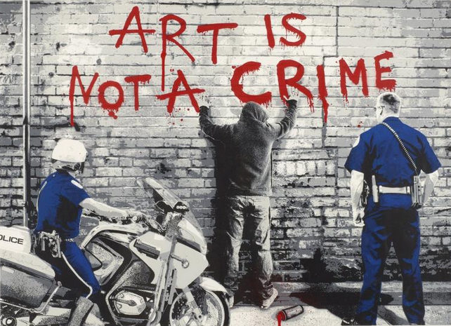 Mr. Brainwash-Art is Not a Crime-2013