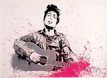 Mr. Brainwash-Bob Dylan-