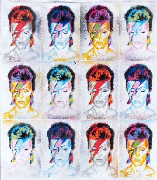 Mr. Brainwash-David Bowie-