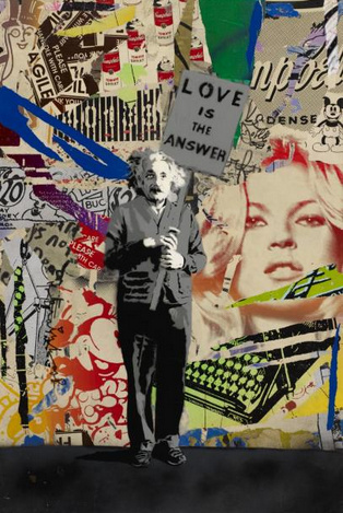 Mr. Brainwash-Einstein-