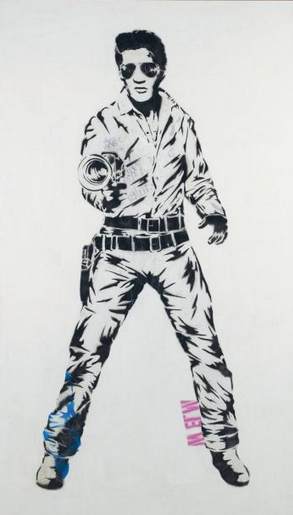 Mr. Brainwash-Elvis-2006