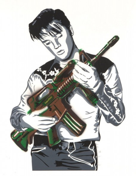 Mr. Brainwash-Elvis-