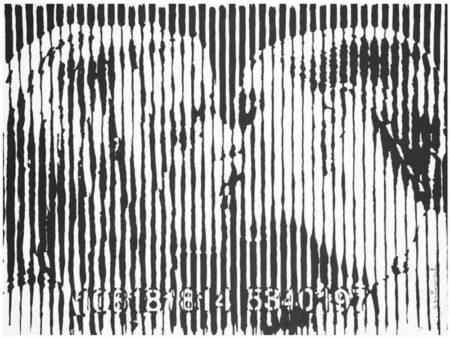 Mr. Brainwash-Freedom Kiss-2008