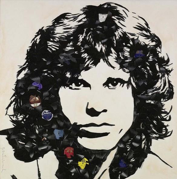 Mr. Brainwash-Jim Morrison-2009