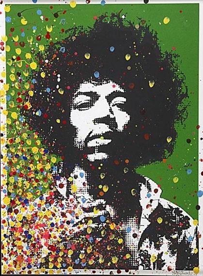 Mr. Brainwash-Jimi Hendrix-2008