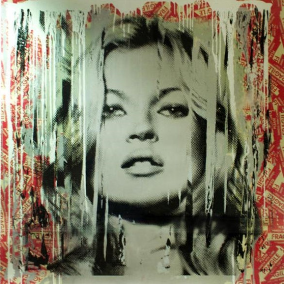 Mr. Brainwash-Kate Moss 2-2013