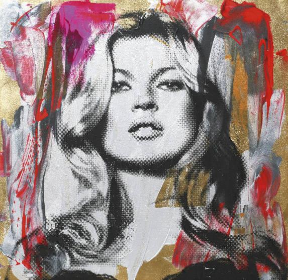 Mr. Brainwash-Kate Moss-2010