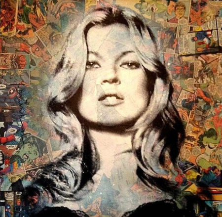 Mr. Brainwash-Kate Moss-