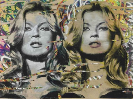 Mr. Brainwash-Kate Moss Diptych-2010