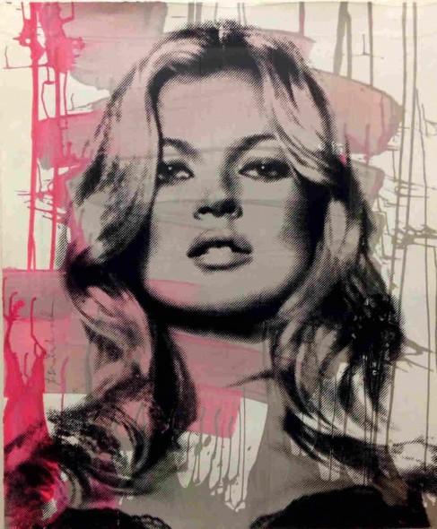 Mr. Brainwash-Kate Moss (Pink)-2013
