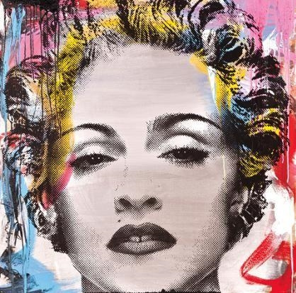 Mr. Brainwash-Madonna-2011