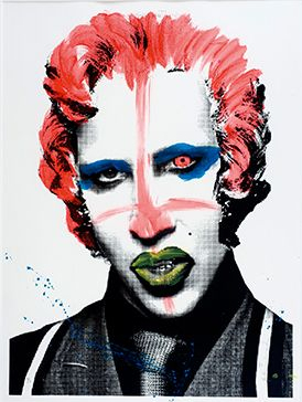 Mr. Brainwash-Marylin Manson-