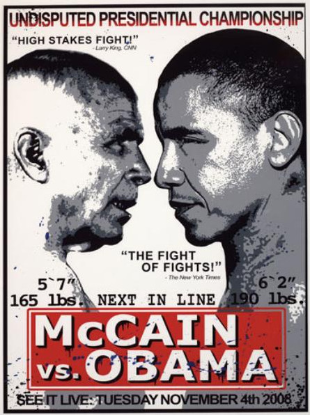 Mr. Brainwash-McCain vs Obama-2008