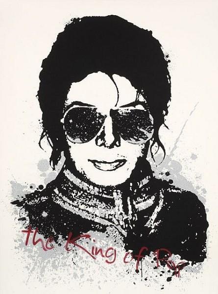 Mr. Brainwash-Michael Jackson, The King of Pop-2009