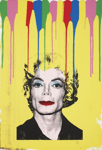 Mr. Brainwash-Michael Jackson (Life is Wonderful)-2009