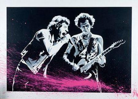 Mr. Brainwash-Mick Jagger et Keith Richard-