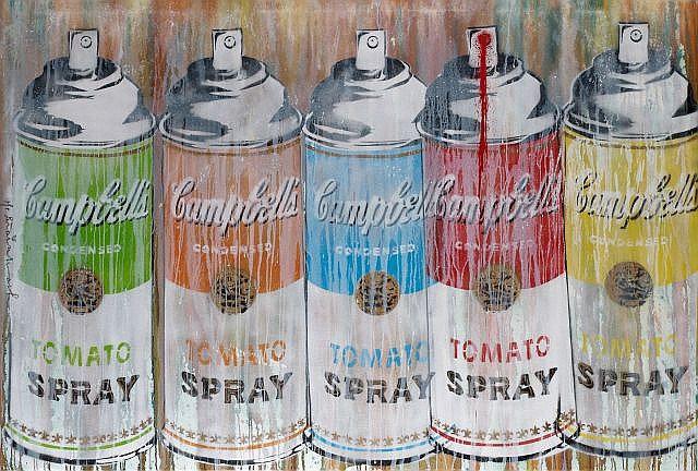 Mr. Brainwash-Multi Spray (Life is Beautiful)-2009