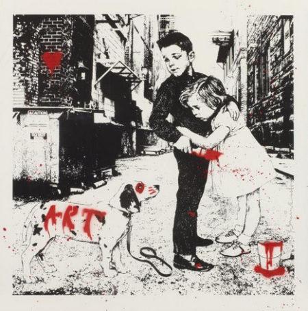 Mr. Brainwash-Pup Art-