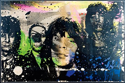 Mr. Brainwash-Rolling Stones-