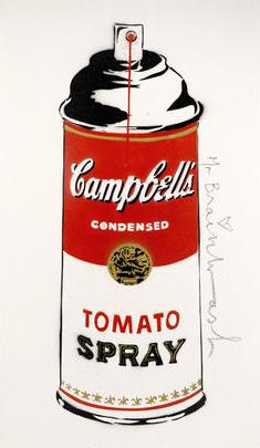Mr. Brainwash-Tomato Spray-2009