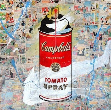 Mr. Brainwash-Tomato Spray-